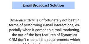 Email-Broadcast-Solution