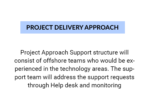 Our Project Delivery Approach