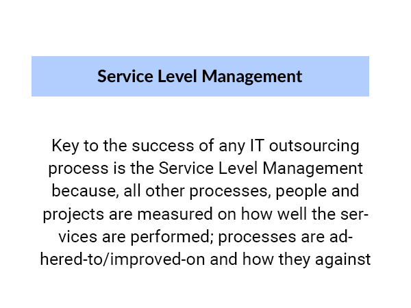 Why Service Level Management