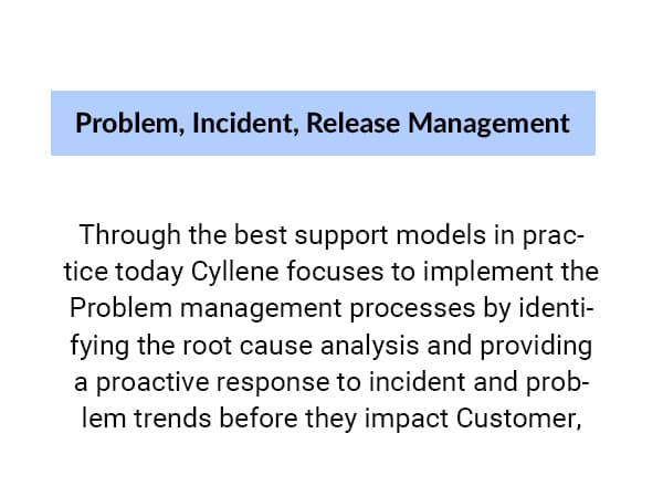 What do we mean by Problem, Incident, Release Management